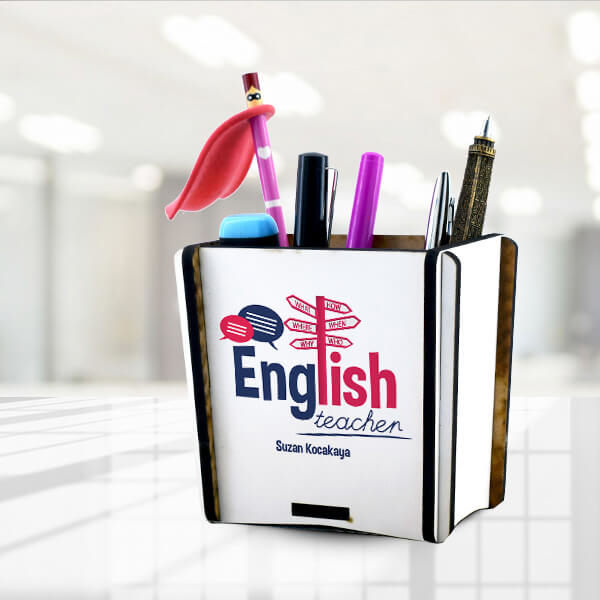 İngilizce Öğretmenine Hediye Kalemlik