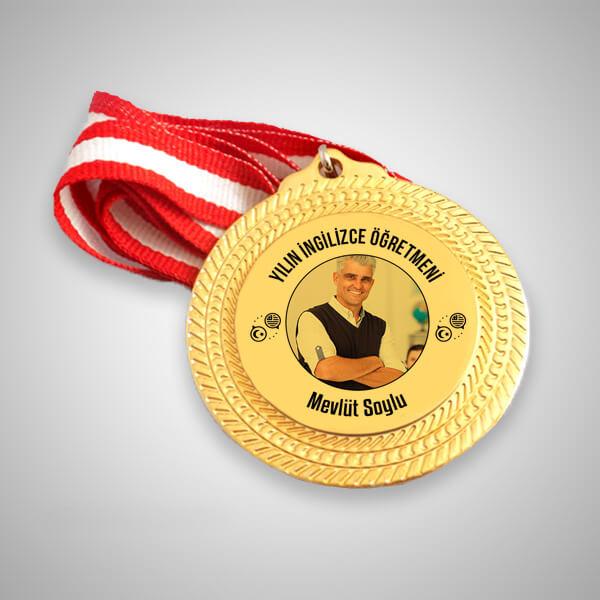 İngilizce Öğretmenine Hediye Madalyon