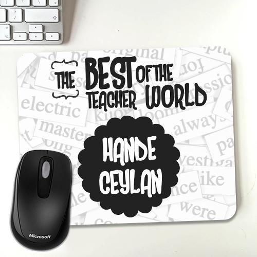 İngilizce Öğretmenine Hediye Mousepad