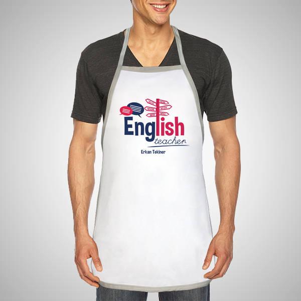 İngilizce Öğretmenine Hediye Mutfak Önlüğü