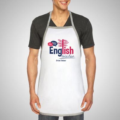 İngilizce Öğretmenine Hediye Mutfak Önlüğü - Thumbnail