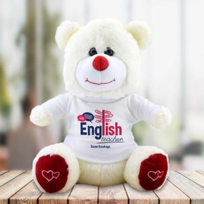 - İngilizce Öğretmenine Hediye Pelüş Ayıcık
