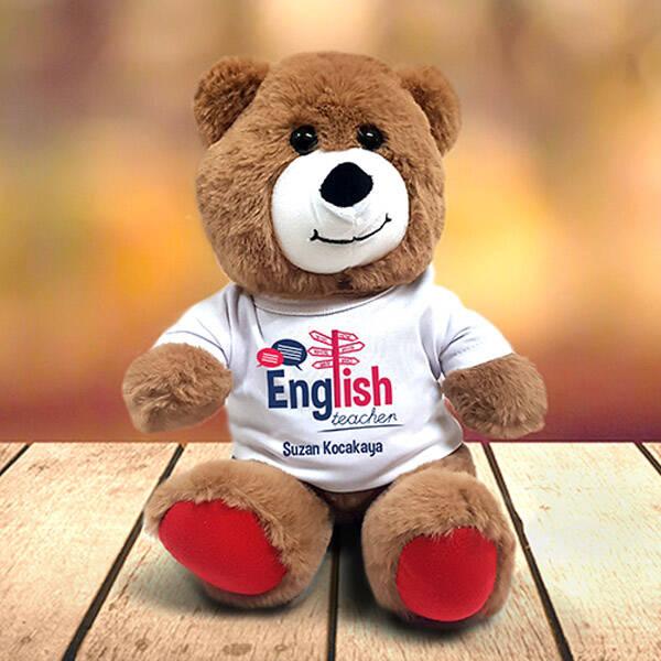 İngilizce Öğretmenine Hediye Pelüş Ayıcık