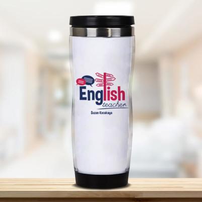 - İngilizce Öğretmenine Hediye Termos Bardak