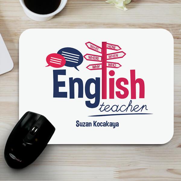 İngilizce Öğretmenlerine Hediye Mousepad