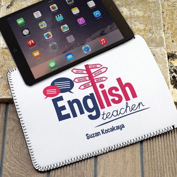 İngilizce Öğretmenlerine Hediye Tablet Kılıfı