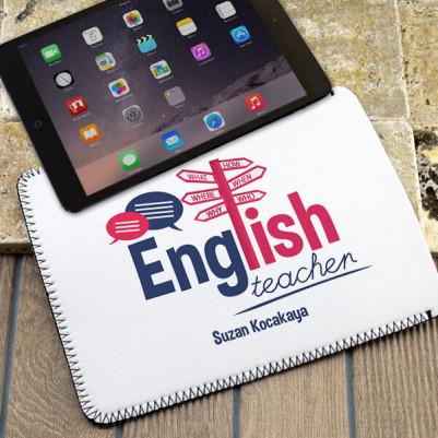 - İngilizce Öğretmenlerine Hediye Tablet Kılıfı