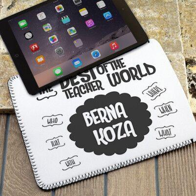 - İngilizce Öğretmenlerine Özel Tablet Kılıfı