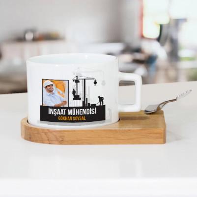 - İnşaat Mühendisine Hediye Çay Fincanı