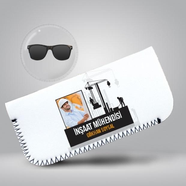 İnşaat Mühendisine Hediye Gözlük Kılıfı