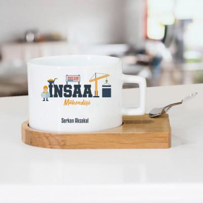 - İnşaat Mühendislerine Özel Çay Fincanı