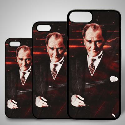 - iPhone Telefon Kapağı Atatürk Temalı