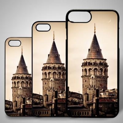 - iPhone Telefon Kılıfı Galata Kulesi Resimli