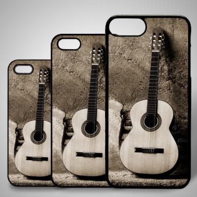 - iPhone Telefon Kılıfı Gitar Temalı