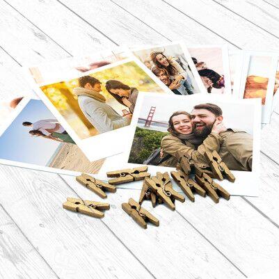 İpli ve Mandallı Anı Çerçevesi - Thumbnail