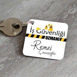 - İş Güvenliği Uzmanlarına Özel Anahtarlık