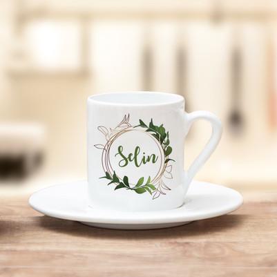 - İsim Yazılı Kahve Fincanı