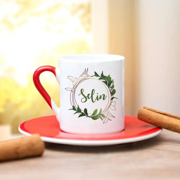 İsim Yazılı Kahve Fincanı