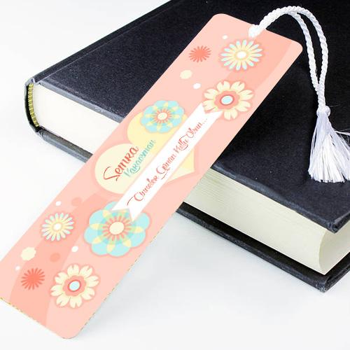 İsme Özel Canım Annem Kitap Ayracı