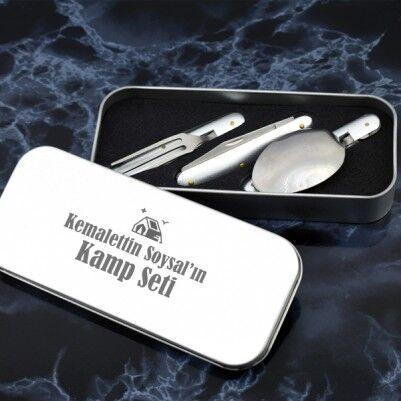 İsme Özel Çatal Bıçak Kaşık Seti - Thumbnail