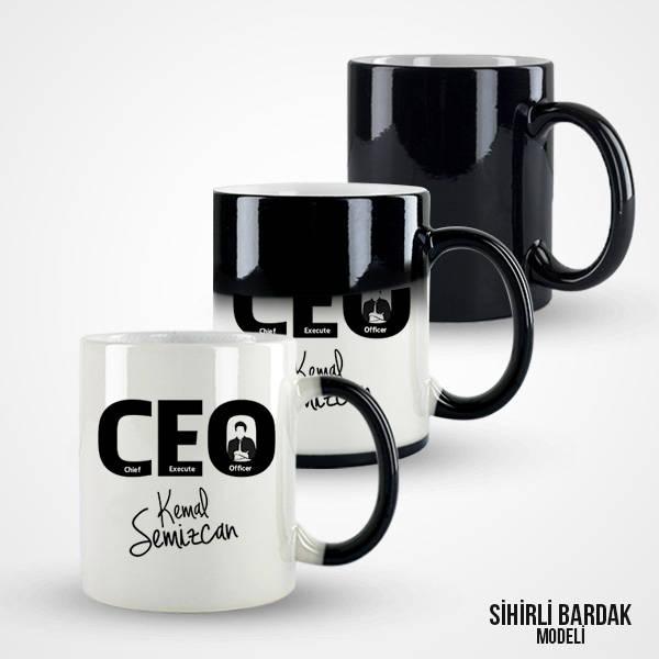 İsme Özel CEO Kupa Bardak