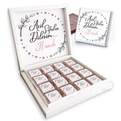 İsme Özel Geçmiş Kutu Çikolatası - Thumbnail