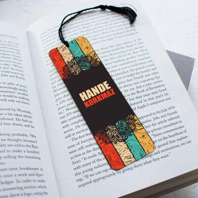 - İsme Özel Hediyelik Kitap Okuma Ayracı