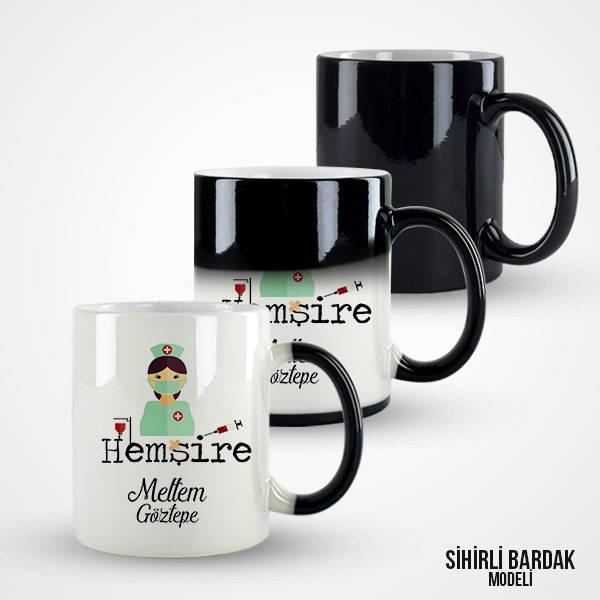İsme Özel Hemşire Kahve Kupası