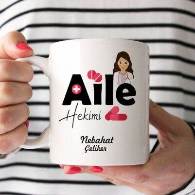 İsme Özel Kadın Aile Hekimi Kupası - Thumbnail