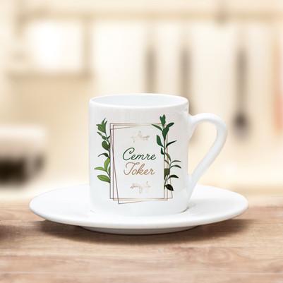 - İsme Özel Kahve Fincanı