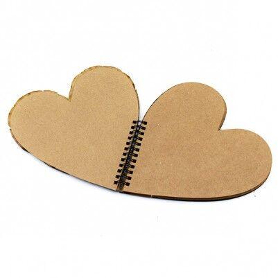 İsme Özel Kalp Şeklinde Sevgili Defteri - Thumbnail