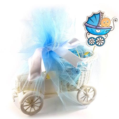 İsme Özel Kamyonlu Erkek Bebek Hediye Sepeti