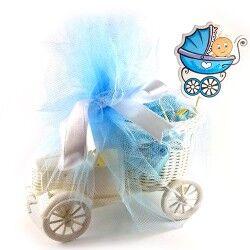 İsme Özel Kamyonlu Erkek Bebek Hediye Sepeti - Thumbnail