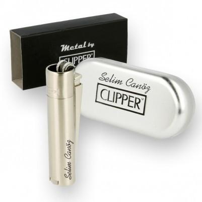 İsme Özel Metal Clipper Çakmak - Thumbnail
