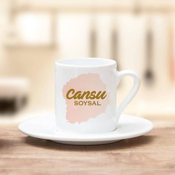 İsme Özel Premium Kahve Fincanı