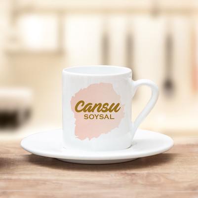 - İsme Özel Premium Kahve Fincanı