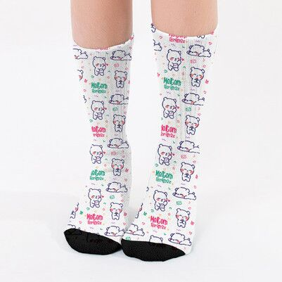 - İsme Özel Sevimli Kadın Çorabı