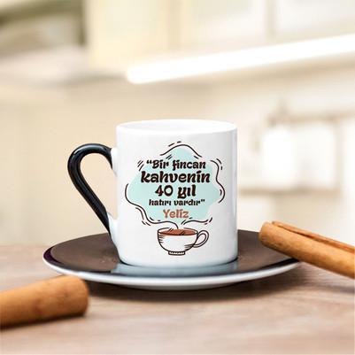 İsme Özel Tasarım Kahve Fincanı - Thumbnail
