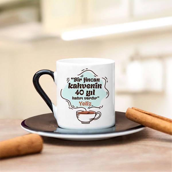 İsme Özel Tasarım Kahve Fincanı