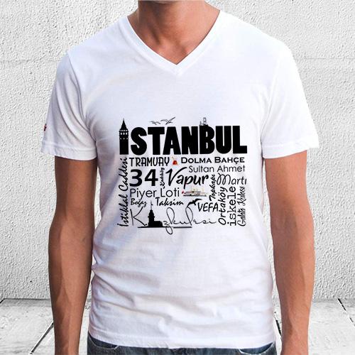 İstanbul Benim Herşeyim Erkek Tişörtü