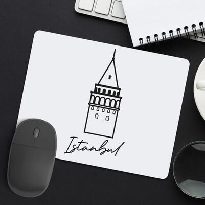 - İstanbul Galata Kulesi Tasarımlı Mousepad