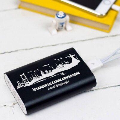 - İstanbul Temalı İsme Özel PowerBank
