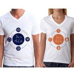 İşte Bunu Seviyorum Sevgili Tişörtleri - Thumbnail