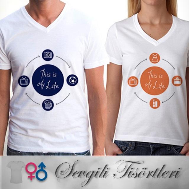 İşte Bunu Seviyorum Sevgili Tişörtleri