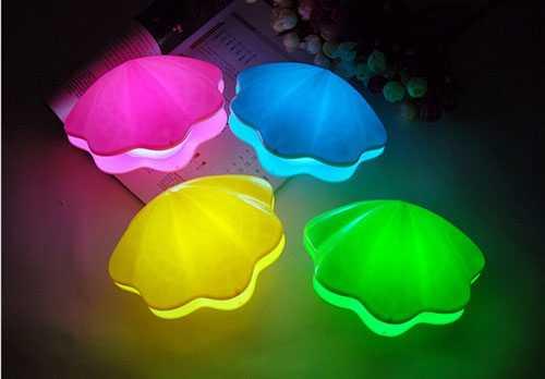 İstiridye LED Gece Lambası