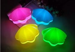 İstiridye LED Gece Lambası - Thumbnail