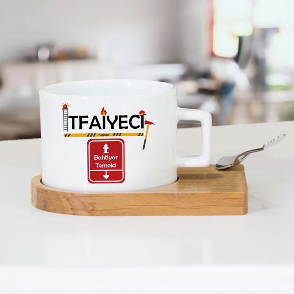 İtfaiyeciye Hediye Çay Fincanı