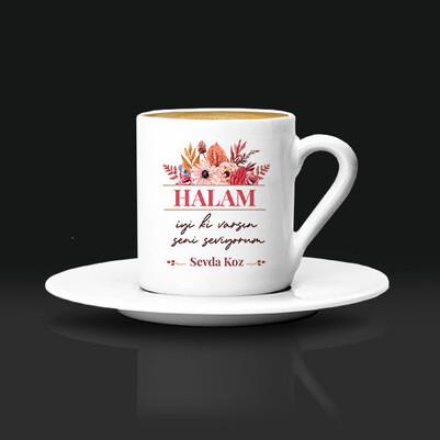 İyi Ki Varsın Canım Halam Kahve Fincanı - Thumbnail