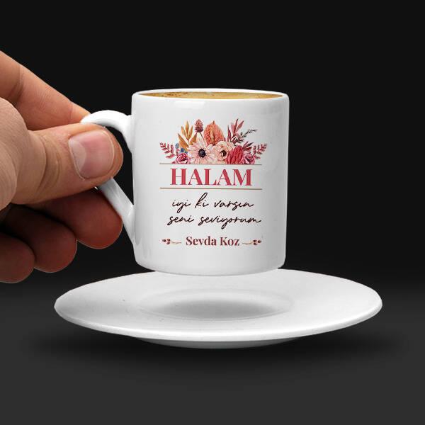 İyi Ki Varsın Canım Halam Kahve Fincanı
