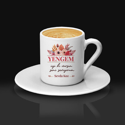 İyi Ki Varsın Canım Yengem Kahve Fincanı - Thumbnail